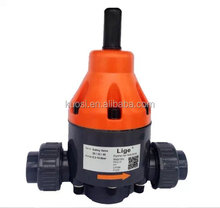 pvc activated metering pump use back and safe relief pressure valve