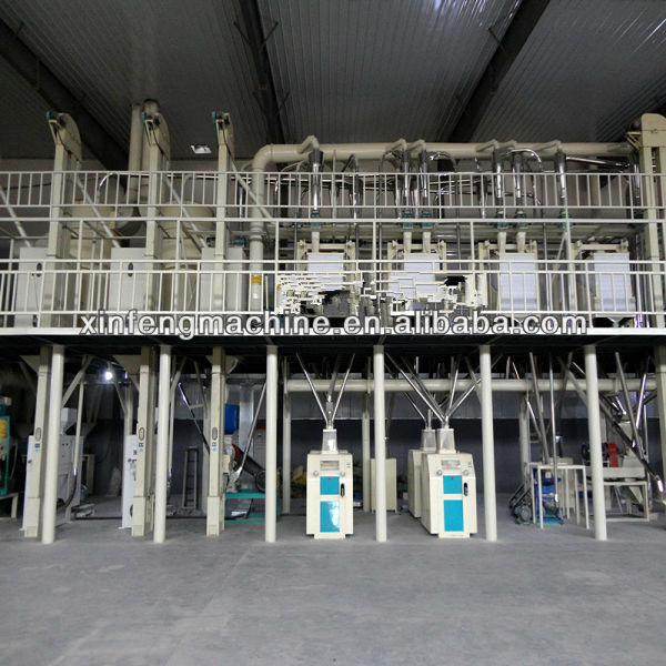 High Quality/low Consumption Mini Wheat Flour Mill with CE/Reasonable Price