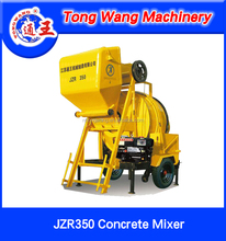 Nantong Diesel Engine Concrete Mixer with Hoist Working JZR350