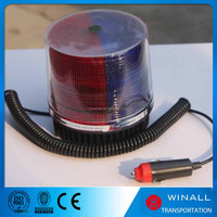 Portable LED Strobing beacon vehicle Battery Operated