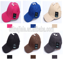 Professional bluetooth sport hat cap with CE certificate