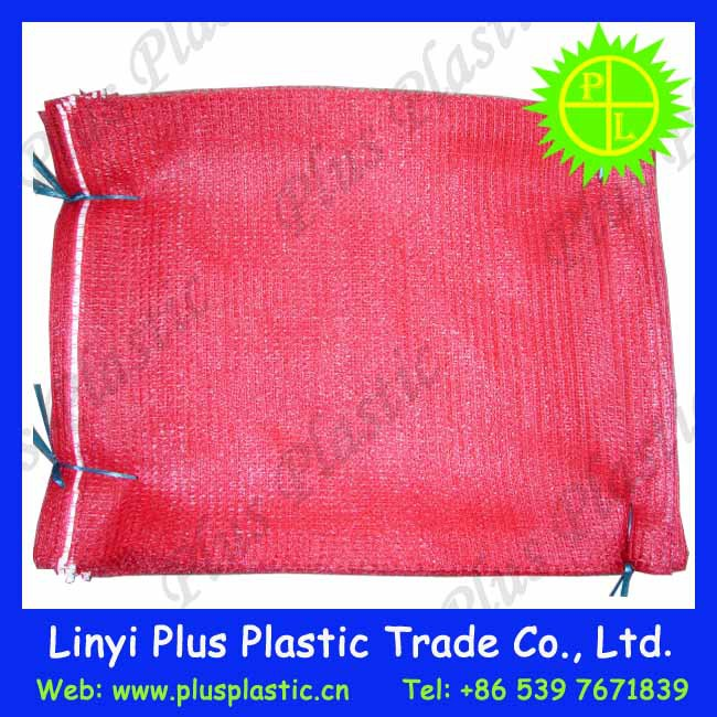 fruit and vegetables packing hdpe raschel mesh rachel bag