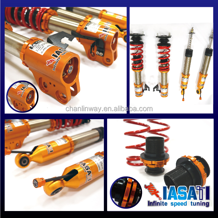 Suspension System | Shocks and Struts, Full Set for Honda CIVIC (VII) <strong>K10</strong>