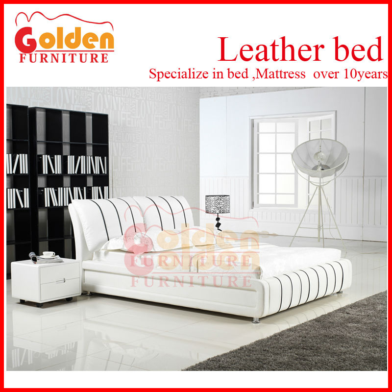 BG855# foshan furniture modern tv bed queen