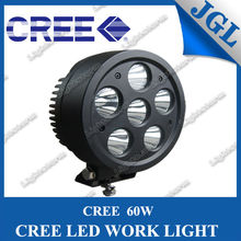 guangzhou Promotion Item JG-WT660 CREE 60W LED Work Light With Free Cover For Offroad SVU ATV Truck Tractor
