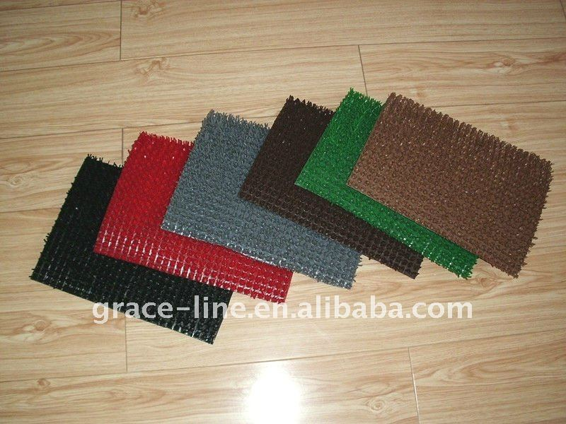 plastic artificial grass mat price