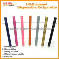 2013 most popular special electronic cigarette H8-diamond disposable e cigarette with real class