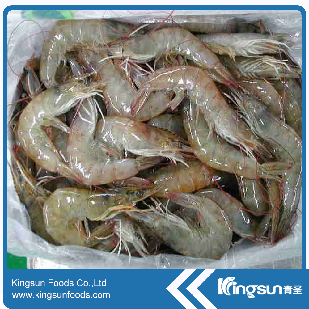 Ready Stock Frozen vannamei shrimp HLSO