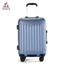2017 hot sale cheap hard plastic suitcase abs travel bags trolley case