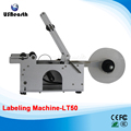 LT50 Semi-Automatic circular labeling machine Sticker for bottle