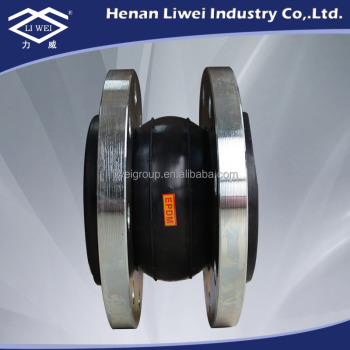 DN80(3 inch) PN25 DIN Standard Neoprene Rubber Expansion Joint Bellow