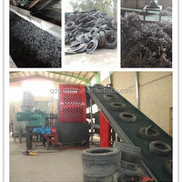 Fully Automatic Waste Tire Recycling Production