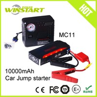 Emergence tool car kit jump starter for car and motorcycle