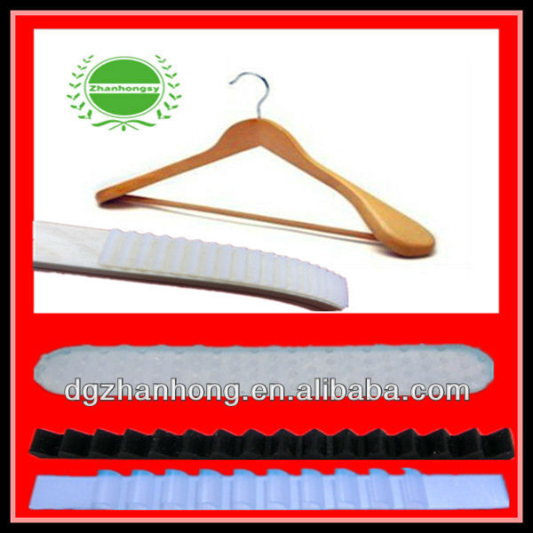 (Rubber anti-skiding hanger mat ) automobile clothes hanger
