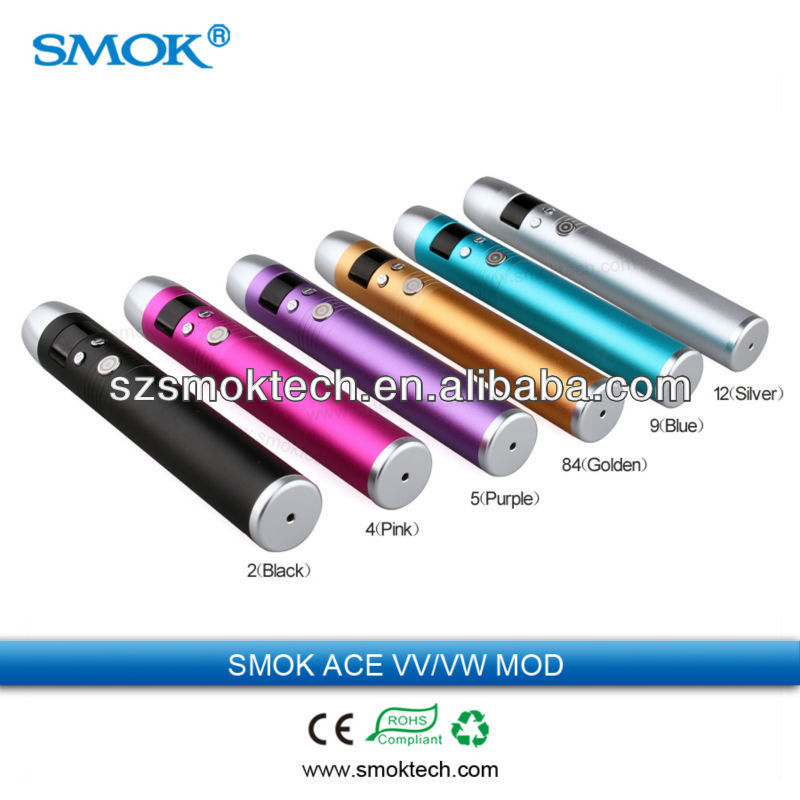Smoktech ACE 3 button VV VW mod new Smok SID mod 3.0-6.0V/3-15W new mod e-cig