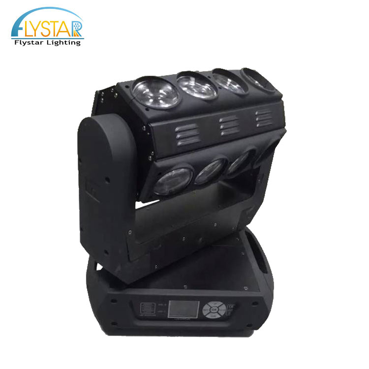 New hot sale 16pcs 15w rgbw spider beam led moving head star effect stage lighting