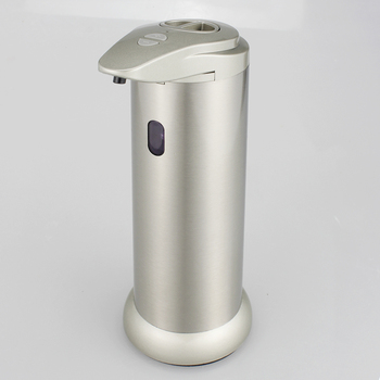 Wholesale stainless steel Automatic Sensor Touchless Liquid Soap Dispenser with LED Light Indication