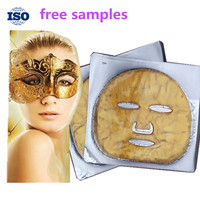 Wholesale nourishing collagen crystal gold face mask