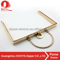 Metal Clutch purses and handbag hardware