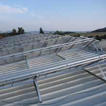 Easy installation adjustable Cheapest solar panel mounting racks for pitched tin roof