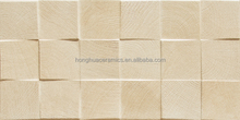 30x60cm wood block ceramic wall tiles square shapes