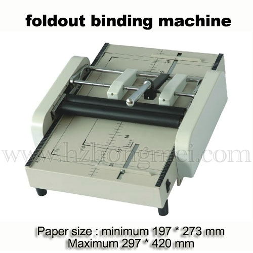 Hot Sale Table Top Electric A3 Brochure Folding Binding Machine for books