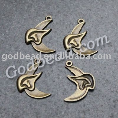 jewelry finding brass crimp beads