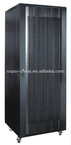 19'' Perforated Metal Network Server Cabinet Rack