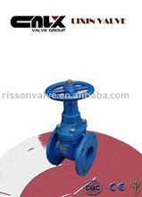 Russian Iron Gate Valve With Rubber Wedge