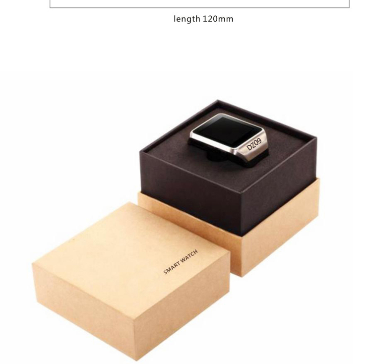 Wholesale factory high quality mtk sim card BT mobile smart watch dz09