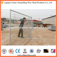 Construction metal fence panel hot sale for industry and residential sites