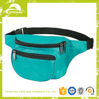 Fashion good quality outdoor sport waist bag/ customize fanny pack wholesale