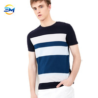2019 Wholesale custom your color color block short sleeve o neck 100% cotton t shirt online shopping mall in china
