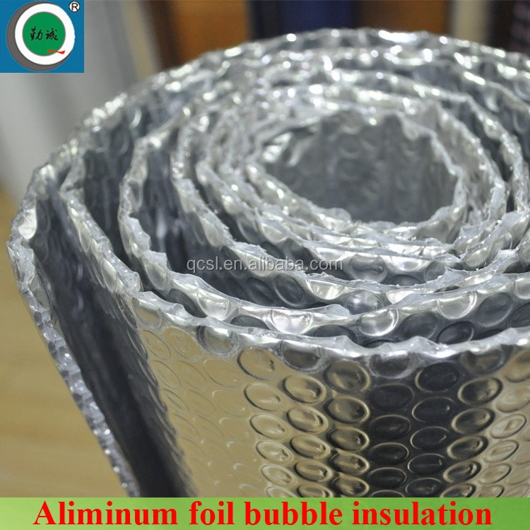 Thermal reflective aluminum foil backed insulation bubble foil