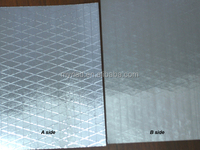 metallized polyester film/reflective mylar, Double Side Foil-Scrim-Kraft Facing, Aluminium Foil Insulation Material