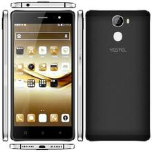 YESTEL mobile phone Unlocked 8X+ MTK6580 Quad Core Android 5.1 RAM 1GB ROM 8GB 5.5 inch HD screen smartphone with fingerprint