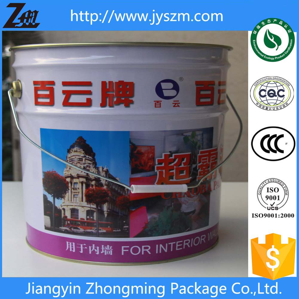 packaging metal tin/tinplate barrel for paint/coating/other chemical products