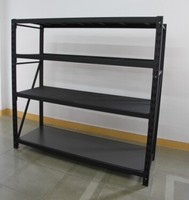 Newest environmentally friendly and good quality warehouse storage iron shelving with CE and RoHS approved