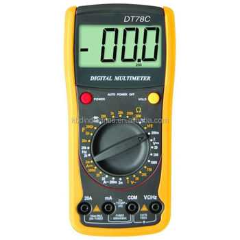HIGH QUALITY DC DIGITAL MULTIMETER