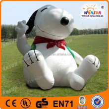 outdoor decoration cheap advertising inflatable snoopy for sale