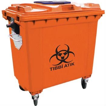 Medical Waste Container 660 Lt