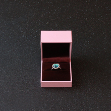 China Alibaba Supplier Customized Logo Ring Jewellry Box/ ring jewelry packaging boxes custom logo