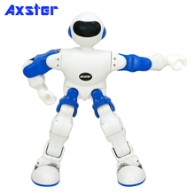 Intelligent humanoid robot toy for programming