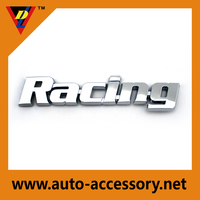 Trade assurance Racing letters car logo design for ford sticker badge