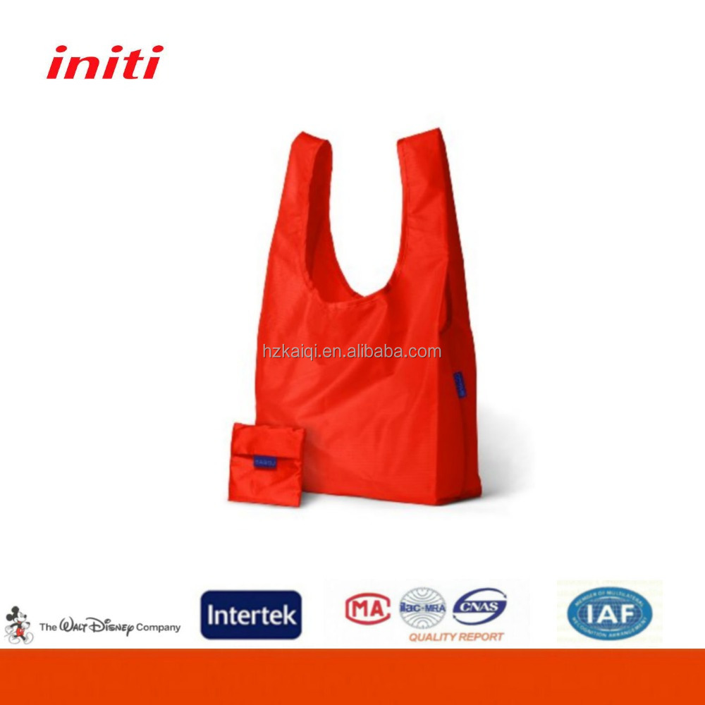 INITI 2016 Wholesale Nylon Foldable Shopping Bag for Shopping