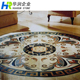 Customized Design Marble Waterjet Medallion For Flooring