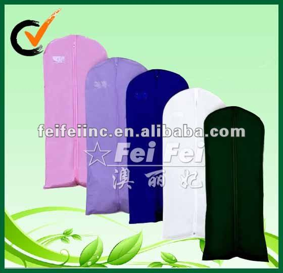 Nonwoven Wedding/Suit Dress Cover Zip 60'' with PVC window