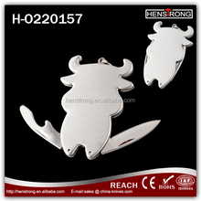 2016 Promotion Gift Stainless Steel Lobster Shape Pocket Keychain