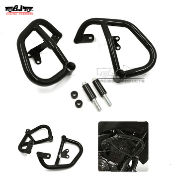 BJ-FG-YA001 Metal Motorcycle MT07 Crash Bars Frame Guard Protector for Yamaha FZ-07 2015-2017