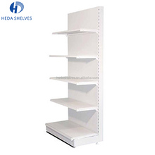 adjustable single sided steel supermarket shelf/gondola